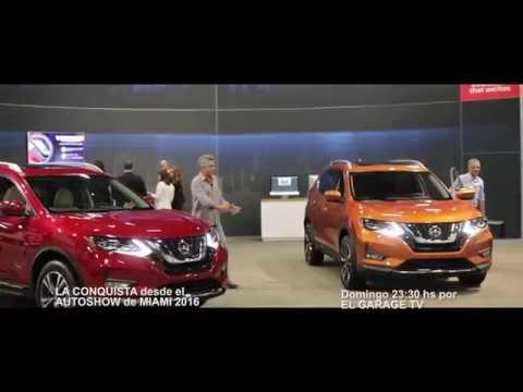 La Conquista en el Autoshow de Miami 2016 solo por el Garage Tv