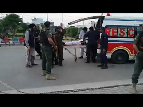 Pakistanischer Innenminister bei Attentatsversuch angeschossen
