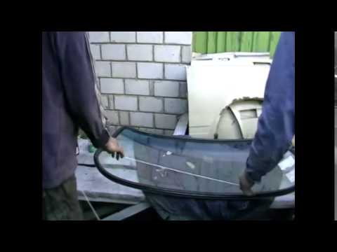 Замена заднего стекла на ваз2106