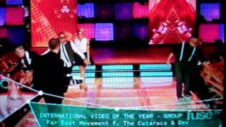 Far East Movement, Dev and The Cataracs Win MMVA for International Video Of The Year (Group)