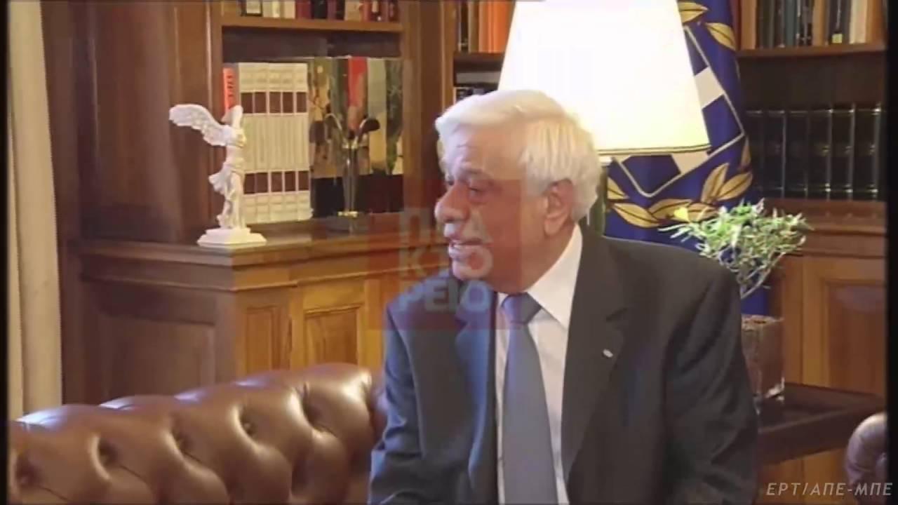 Το Κυπριακό στο επίκεντρο της συνάντησης Πρ. Παυλόπουλου – Ν. Αναστασιάδη