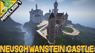 Neuschwanstein Castle + download - Minecraft Inspiration Series | THE BEST CASTLE IN MINECRAFT 2015