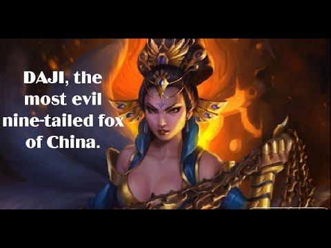 Daji - The Most Evil Kitsune (Nogitsune) Of China | Chinese Mythology & Folklore EP2