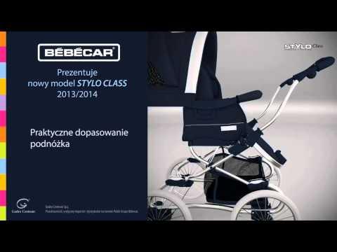 Bebecar Stylo Class - Видео обзор коляски
