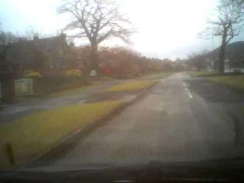 Car Cam - Abbey Lane (BEAUCHIEF) Beauchief Rise / Folds Lane