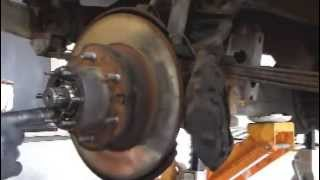 Video 1985 Toyota 4x4 Pickup - Front Brake Rotor Change MP3, 3GP, MP4, WEBM, AVI, FLV Juni 2018