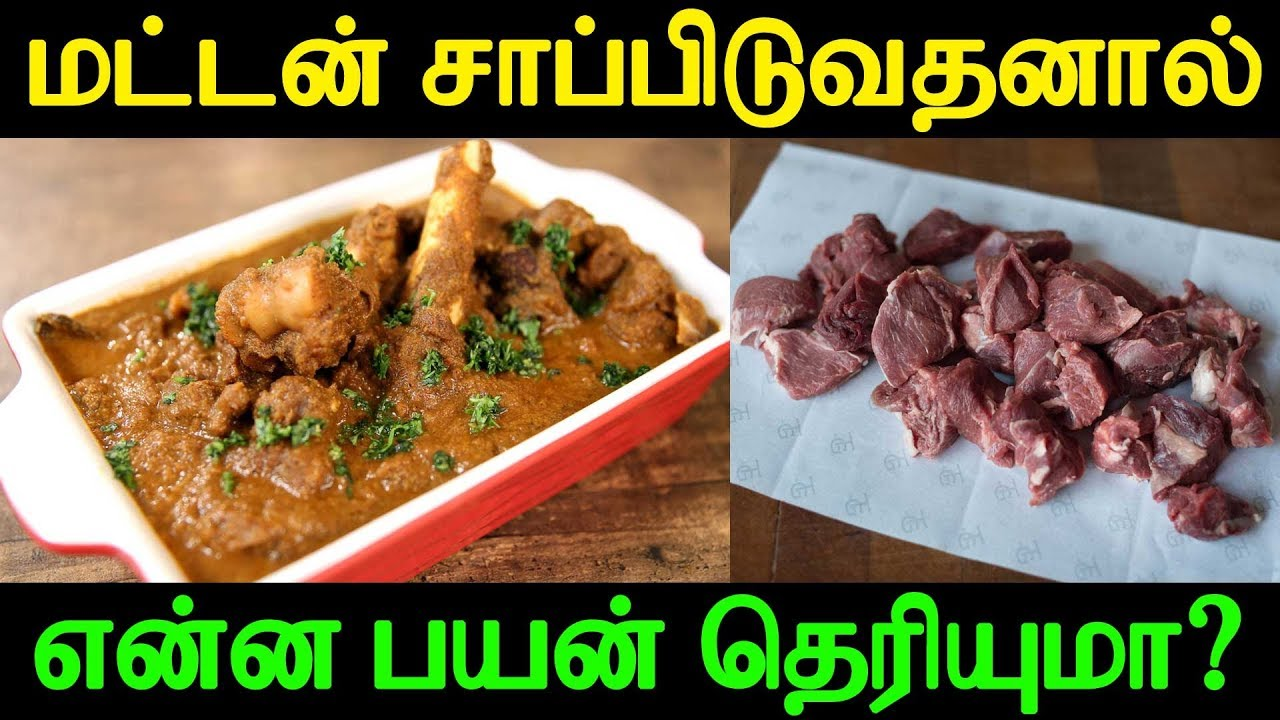Do you know the benefit of eating the mutton? | மட்டன் சாப்பிடுவதனால் என்ன பயன் தெரியுமா?
