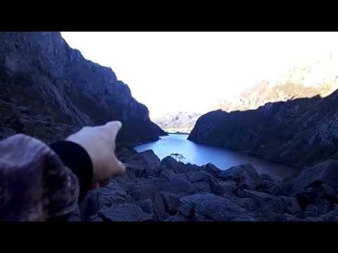 German mountain attack. SPECTACULAR ! (видео)