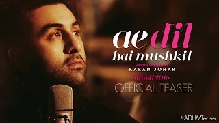 'Ae Dil Hai Mushkil' Teaser: Intense Love Triangle