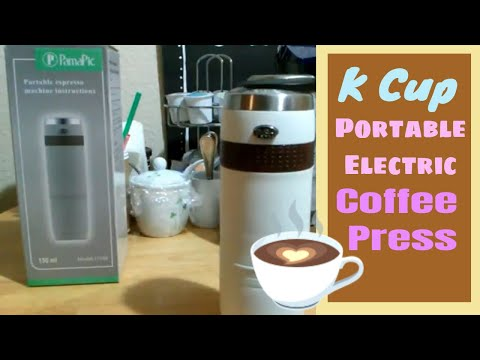 K Cup Portable Electric Coffee Press Hand Held Keurig Dupe #2