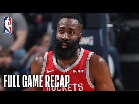 ROCKETS vs GRIZZLIES | James Harden Goes For 57 Points In Memphis | March 20, 2019