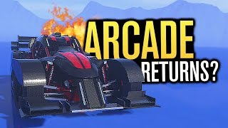 THE RETURN OF THE ARCADE RACER!?