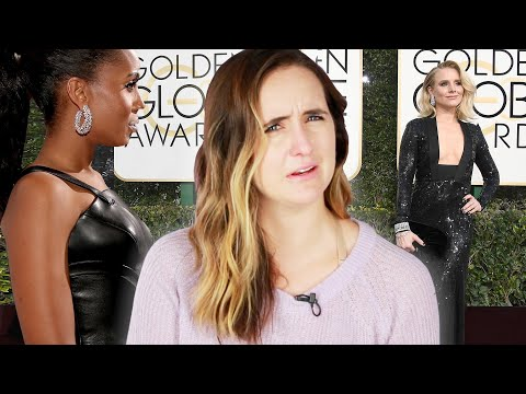 Why Is Everyone Wearing Black At The Golden Globes?