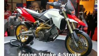 4. 2009 Aprilia SMV 750 Dorsoduro -  Engine Details superbike Transmission Top Speed Features