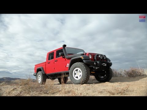 jeep - Jeep hasn't built a pickup truck in decades, but that doesn't mean the niche has gone unfulfilled. American Expedition Vehicles (AEV) offers the Brute Double...