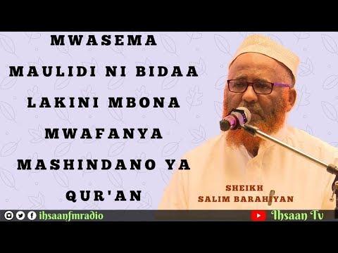 Mwasema Maulidi ni Bidaa, Mbona mwafanya Mashindano ya Qur'an?