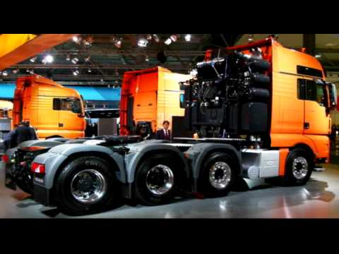 MAN Trucks ( MAN TGX, ... ) - from the Scania-Channel