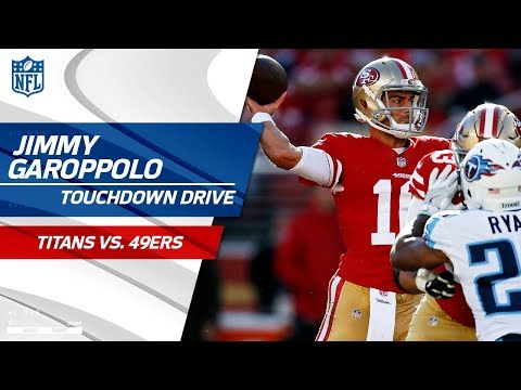 Video: Jimmy Garoppolo Efficiently Guides San Fran Downfield on TD Drive! | Titans vs. 49ers | NFL Wk 15