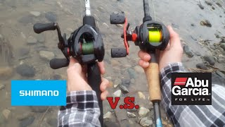 Video Shimano Caenan casting reel v.s. Abu Garcia black max (wich one is better?) MP3, 3GP, MP4, WEBM, AVI, FLV Mei 2019
