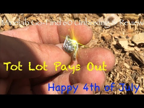 Minelab Go-Find 60 -Tot Lot & a Ring-Short Unboxing & Review of the Minelab Go-Find 60