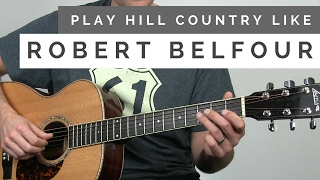 How to Play Acoustic Blues in the Style of Robert Belfour | Tuesday Blues #137