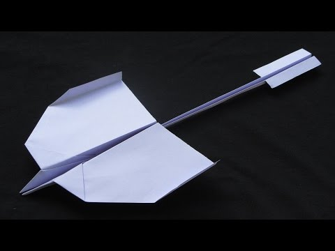 Paper Planes - How to make a Paper Airplane that Flies Far - Easy Origami Jet | Nevermind