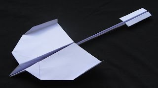 How to make a Paper Airplane - BEST paper airplanes that FLY FAR - como hacer aviones de papel