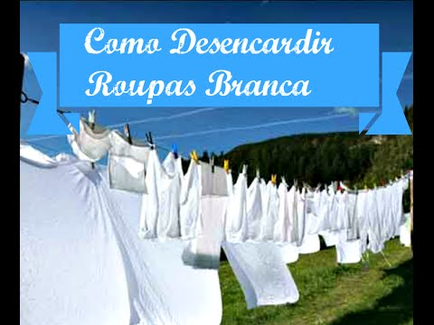 clarear roupas branca
