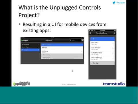 [Webinar] Building Your First Mobile Application Using XPages