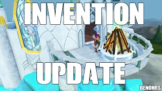 Hey guys with this new update you can now use firemaking and smithing with invention! They New Update Title - Invention: Hammer & Tinderbox  15-Year Veteran Cape! Hope you all enjoy the run down and i also discuss my plans with the new update in terms of firemaking! Enjoy all!