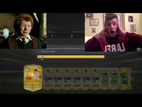 opening - Fifa 15 Discard Pack Opening Series called Guess who, CapGunTom gets Ronaldo in a pack!!! Sub to me if you haven't already!:D Sub to Tom - http://goo.gl/WoJ3TL VERY CHEAP COINS ...