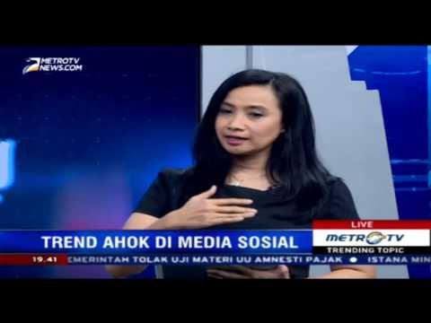 Tren Ahok Djarot di Media Sosial dan Online Tinggi