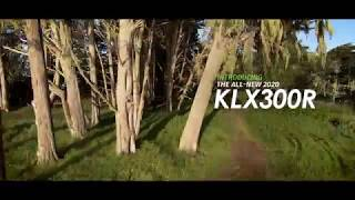 5. 2020 Kawasaki KLX300R - Action Video