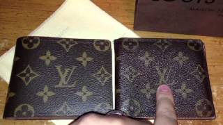 Louis Vuitton Real vs Fake men's wallet