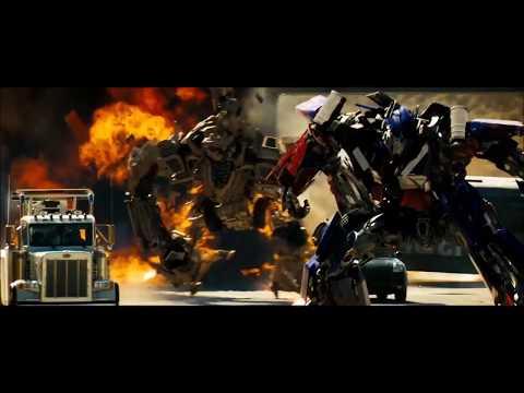 Transformer 1 Megatron return and Optimus Prime Vs Bonecrusher 480p