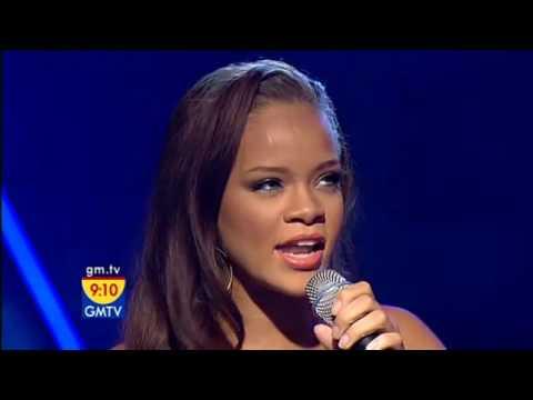 Rihanna - Unfaithful (GMTV 2006)