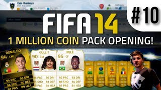 FIFA 14 | 1 MILLION COIN Pack Opening Feat. SIF Cristiano Ronaldo And LEGENDS! #10