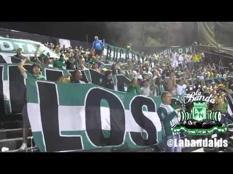 LA BANDA LOS DEL SUR EN ROSARIO ARGENTINA (CANTOS + GOL)) - Los del Sur - Atlético Nacional