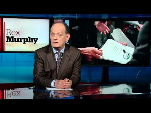 that - Rex Murphy has a go at Senator Mike Duffy... and he's one angry guy.