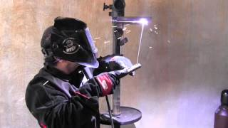 Stick Welding Tips for a 4g Overhead Weld Test