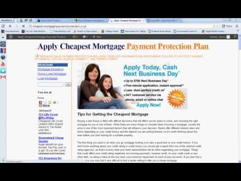 Tips for Getting the Cheapest Mortgage-Mortgage Life Insurance Quotes UK