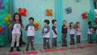 Apresentação realizada na escola CRA Kids em comemoração ao dia dos avós (26/07).