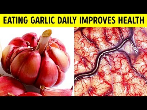 After Eating Garlic Every day, This Is What Happened to Her Cholesterol Levels