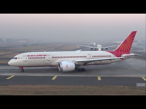Video Back to Back Air India Boeing 787 Dreamliner at Mumbai Airport download in MP3, 3GP, MP4, WEBM, AVI, FLV January 2017