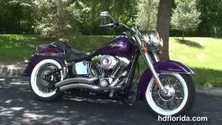 7. Used 2008 Harley Davidson Softail Deluxe Motorcycles for sale - Ft. Lauderdale, FL