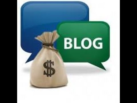 How To Make Money Blogging  – How To Make Money Blogging Tutorial Part 1
