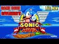 Sonic Mania - Launch Day Livestream + Switch Game Code Giveaway!(ended)