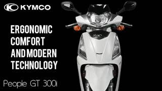 6. 2016 KYMCO PEOPLE GT 300i (Quick Facts & Overview) by Boca Scooters