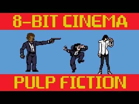 bits - CineFix presents Pulp Fiction retold via old-school 8-bit (and a little 16 bit ;) game tech. No quarters or controllers required! Subscribe to CineFix - http...
