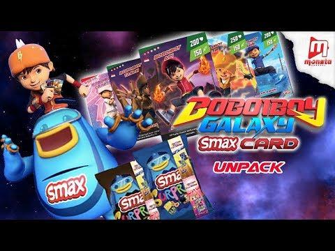 UNPACK BOBOIBOY GALAXY SMAX CARD - Thời lượng: 2 phút, 42 giây.